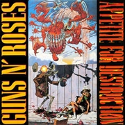 GUNS N' ROSES - APPETITE FOR DESTRUCTION (USA)