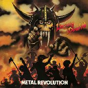 LIVING DEATH - (YELLOW/BLACK) METAL REVOLUTION