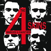 4 SKINS - SINGLES & RARITIES (2LP)