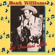 WILLIAMS, HANK - 40 GREATEST HITS (2LP)