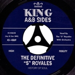 """5"" ROYALES - DEFINITIVE ""5"" ROYALES: KING A & B SIDES (2CD)"