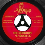 """5"" ROYALES - DEFINITIVE ""5"" ROYALES: COMPLETE APOLLO... (2CD)"