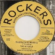 RAS ANGELS - BABYLON BURNING/VERSION