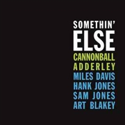 ADDERLEY, CANNONBALL - SOMETHIN' ELSE (UK)