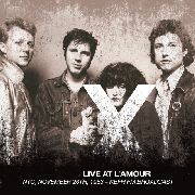 X (USA) - LIVE AT L'AMOUR, NYC, NOVEMBER 26TH, 1983 (2LP)