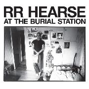 HEARSE, R.R. - (COL) AT THE BURIAL STATION