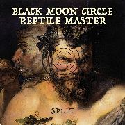 "REPTILE MASTER/BLACK MOON CIRCLE - SPLIT 7"" (RED/CLEAR)"