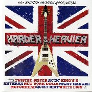 VARIOUS - HARDER & HEAVIER-'60S BRITISH INVASION GOES METAL