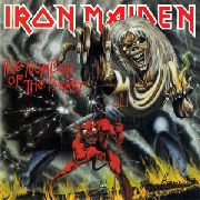 IRON MAIDEN - NUMBER OF THE BEAST (180GR)