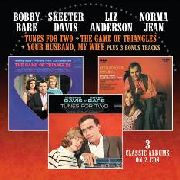 BARE, BOBBY/SKEETER DAVIS/LIZ ANDERSON/NORMA JEAN - TUNES FOR TWO/GAME OF TRIANGLES/... (2CD)