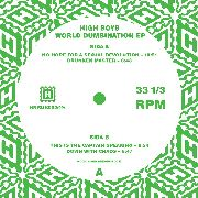 HIGH BOYS - WORLD DUMBINATION EP