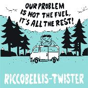 RICCOBELLIS/TWISTER - SPLIT 7""