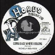 RICHARDS, NICHOLA - GOING BACK WHERE I BELONG/DUB