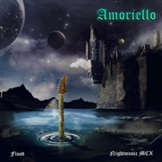 AMORIELLO - FLOOD/NIGHTMUSIC (BLUE SWIRL)