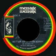 BRISSETT, BUNNY/ROCKERS ALL STARS - BETTER SAFE THAN SORRY/DUB