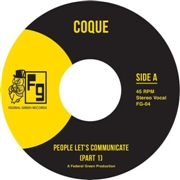 COQUE - PEOPLE LET'S COMMUNICATE PTS. 1 & 2