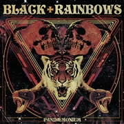 BLACK RAINBOWS - PANDAEMONIUM (SPLATTER)