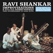 SHANKAR, RAVI - IMPROVISATIONS & THEME FROM PATHER PANCHALI (180G)