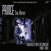 PRINCE - THE ARTIST: GREATEST HITS IN CONCERT (6CD)