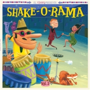 VARIOUS - SHAKE-O-RAMA, VOL. 2 (+CD)
