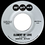 MYLES, GERVIS - ELEMENT OF LOVE/I'M THIRSTY
