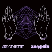 ARC OF ASCENT/ZONE SIX - SPLIT LP (PINK/PURPLE/WHITE)
