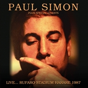 SIMON, PAUL -PLUS SPECIAL GUESTS- - LIVE... RUFARO STADIUM HARARE 1987 (2CD)