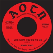 BOYD, BOBBY - I LIKE WHAT YOU DO/GIRL LIKE YOU