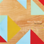MINUS THE BEAR - FAIR ENOUGH (BLACK)