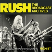RUSH - BROADCAST ARCHIVES (4CD)