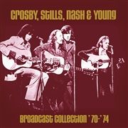 CROSBY, STILLS, NASH & YOUNG - BROADCAST COLLECTION '70-'74 (6CD)