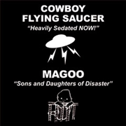COWBOY FLYING SAUCER/MAGOO - SPLIT 7""