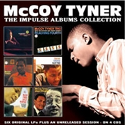 TYNER, MCCOY - IMPULSE ALBUMS COLLECTION (4CD)