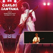 SANTANA, CARLOS - LIVE AT HAMMERSMITH ODEON, DECEMBER 15TH, 1976