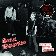 SOCIAL DISTORTION - (BLACK) POSHBOY'S LITTLE MONSTERS