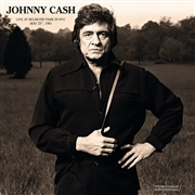 CASH, JOHNNY - LIVE AT BELMOND PARK IN NYC, MAY 23RD, 1981