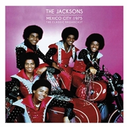 JACKSONS - MEXICO CITY 1975 (2LP/CLEAR)
