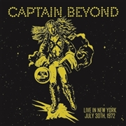 CAPTAIN BEYOND - LIVE IN NEW YORK, JULY 30TH, 1970