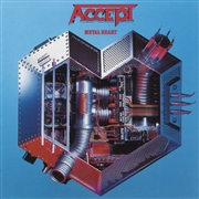 ACCEPT - METAL HEART (RED)