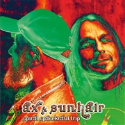 AX & SUNHAIR - (BLACK) SPIRAL SPACEKRAUT TRIP