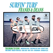 "FRANKS & DEANS - SURFIN' TURF (10"")"
