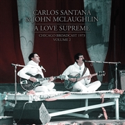 SANTANA, CARLOS -& JOHN MCLAUGHLIN- - A LOVE SUPREME, VOL. 2 (2LP)