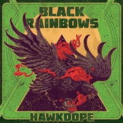 BLACK RAINBOWS - HAWKDOPE (SPLATTER)