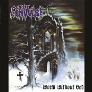 CONVULSE - (RED) WORLD WITHOUT GOD (2LP)