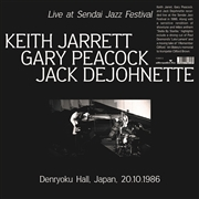 JARRETT, KEITH - LIVE AT SENDAI JAZZ FESTIVAL