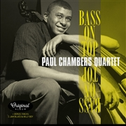 CHAMBERS, PAUL -QUARTET- - BASS ON TOP