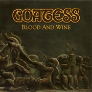 GOATESS - (GOLD) BLOOD AND WINE (2LP)