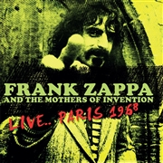 ZAPPA, FRANK -& THE MOTHERS OF INVENTION- - LIVE... PARIS 1968
