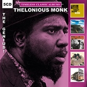 MONK, THELONIOUS - TIMELESS CLASSIC ALBUMS-THE GENIUS (5CD)