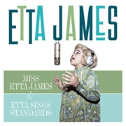JAMES, ETTA - MISS ETTA JAMES/ETTA SINGS STANDARDS